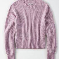 https://www.ae.com/us/en/p/women/sweaters-cardigans/crew-neck-sweaters/ae-balloon-sleeve-crew-neck-sweater/0348_8809_500?isFiltered=false&nvid=plp%3Acat1410002&menu=cat4840004