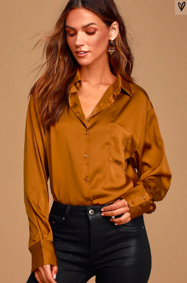 https://www.lulus.com/products/works-wonders-rust-brown-satin-long-sleeve-button-up-top/913942.html